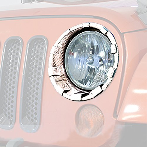 ICars-Front-Headlight-Cover-Bezels-for-07-16-Jeep-Wrangler-JK-unlimited-Rubicon-Sahara-Accessories