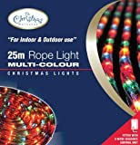 Benross The Christmas Lights 25m Chaser Rope Light - Multi-Coloure