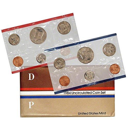 1984 Mint (1984 P & D United States US Mint Set)