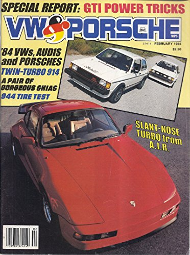 (VW & Porsche Magazine (January/February 1984 - Slant-Nose Turbo))