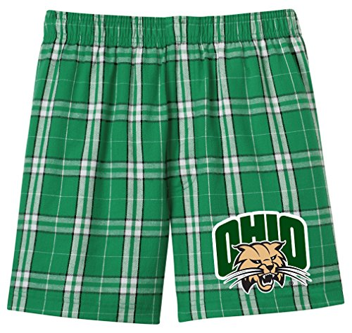 Broad Bay Ohio University BOXERS Ohio Bobcats Boxer Shorts Mens or (Ohio University Bobcats Logo)