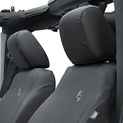 Bestop 2928335 Black Diamond Front Seat Covers for 2013-2020 Wrangler JK 2-door/4-door: Automotive
