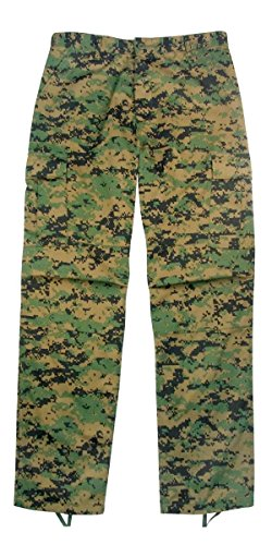 (Rothco 8675 ULTRA FORCETM BDU PANT - WOODLAND DIGITAL, Large-Regular (35-39