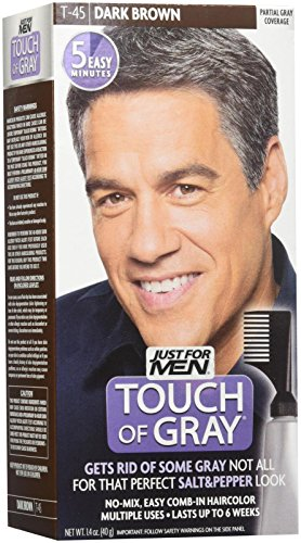 Hair Coloring Products Just For Men Touch Of Gray Mens Hair Color, Dark  Brown