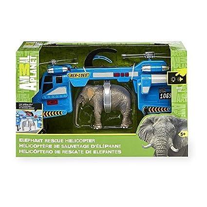 Amazon.com: Animal Planet elefante Rescue luces & Sound ...