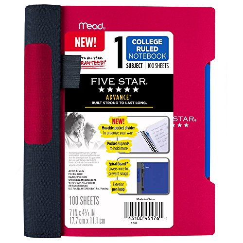 5 Subject Composition Notebook - 3