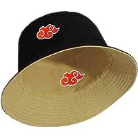Red Cloud Logo Printed Summer Hat Women Men Bucket Cap The Design Flat Visor Fisherman Hat Naruto Akatsuki Anime Sun Hat