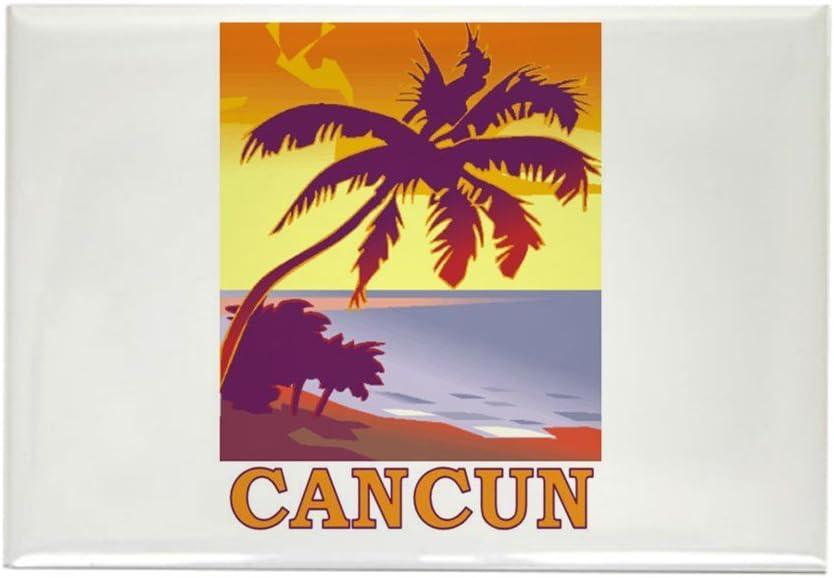 CafePress Cancun, Mexico – Rectángulo Imán: Amazon.es: Hogar