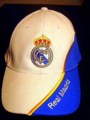 Real Madrid F.C. - Gorro de bordado Gorra, diseño del Real Madrid ...