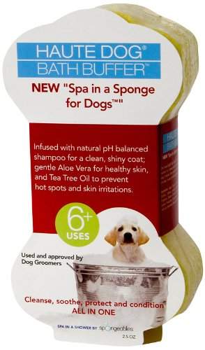 Spongeables Spa-in-a-Sponge for Dogs, - Bath Ounce 2.5