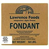 Lawrence Foods 85/15 Bakers Creme Fondant, 50 Pound -- 1 each.