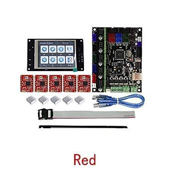Amazon.com: Impresora 3D MKS GEN L Placa base +12864 Display ...