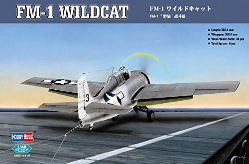 Hobby Boss HY80329 FM-1 Wildcat Airplane Model Building Kit