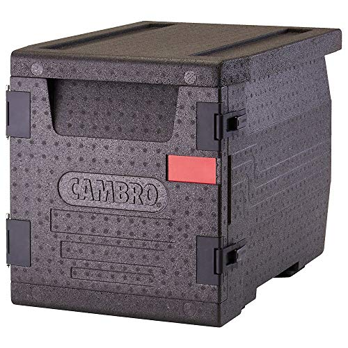 - Cambro EPP300110 Black Cam GoBox Front Loading Catering Box