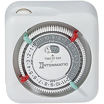 Intermatic Dt122k 15 Amp Two Outlet Heavy Duty Digital