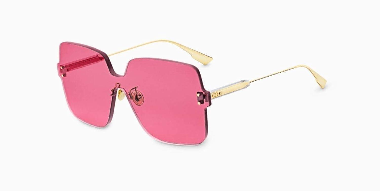 3b1e2a3dfa6 Amazon.com  Dior Authentic Christian Color Quake 1 MU1U1 Gold Pink  Sunglasses  Sports   Outdoors