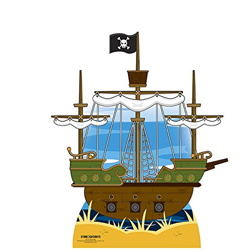 SC715 Pirate ship Cardboard Cutout Standup