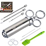 Best Meat Injectors - Ofargo Stainless Steel Meat Injector Syringe with 3 Review
