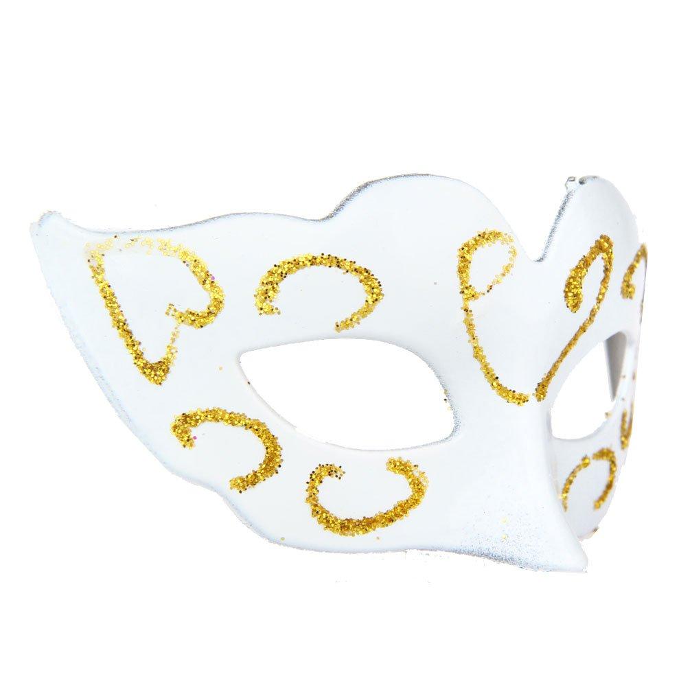 IETANG 12pcs/lot Small Masquerade Masks Luxury Mini Masks Mardi Gras Party Favor