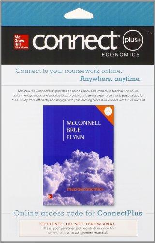 Macroeconomics Connect Plus Access