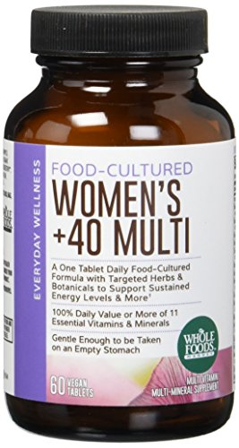 Whole Foods Market, Food-Cultured Once Daily Women's 40+ Multi, 60 ct