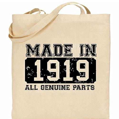 present design Made Cotton ideal in Bag 1919 100 retro qYfrFYx8
