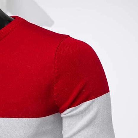 Gran promoci/ón Su/éter de Invierno oto/ño de los Hombres Jersey de Punto Delgado Outwear Blusa de Internet