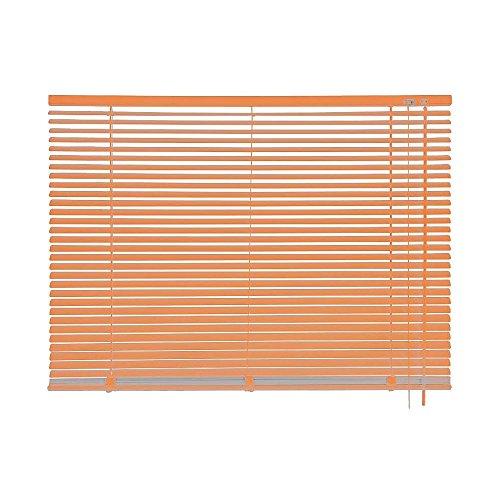 mydeco tenda veneziana alluminio, Arancione, Orange, 80 x 240 cm [Breite x Höhe] 64226