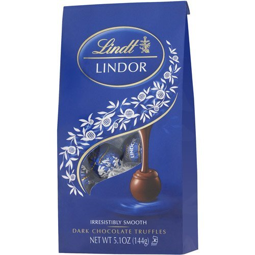 Lindt Lindor Dark Chocolate Truffle Ball, 5.1 oz by Lindt