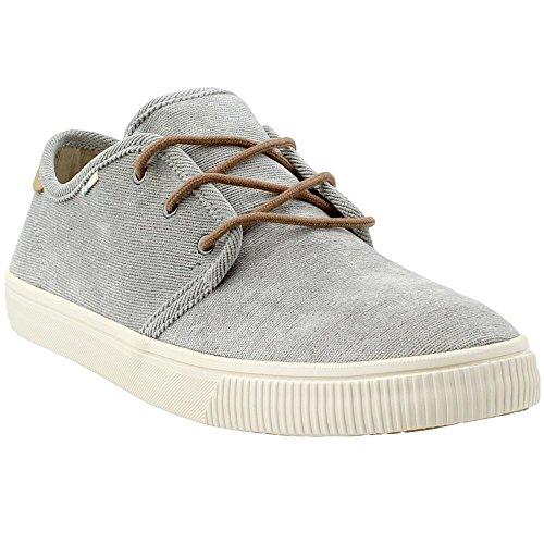 TOMS Cement Micro Corduroy Men's Carlo Sneakers (10 D (M) US) -