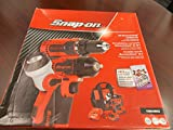Snap-On 18V MonsterLithium Cordless Kit: Impact Wrench, Drill and Led Work Light, Part #CK8810DILX, ONLY IN AMAZON