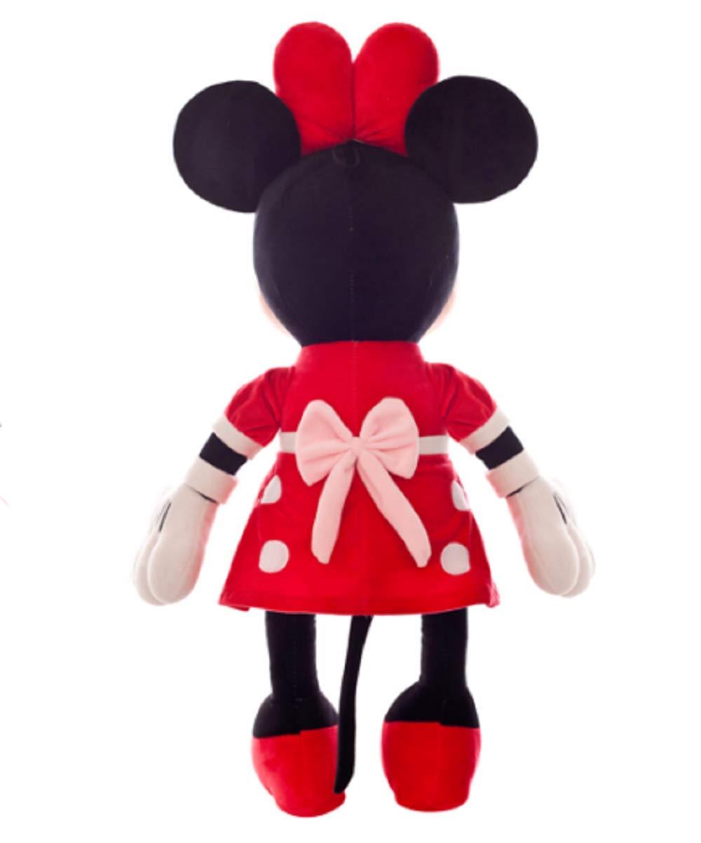 40cm Peluche Mickey Minnie Doll Mickey Mouse Regalo Regalo De Navidad 30 Negro,30cm