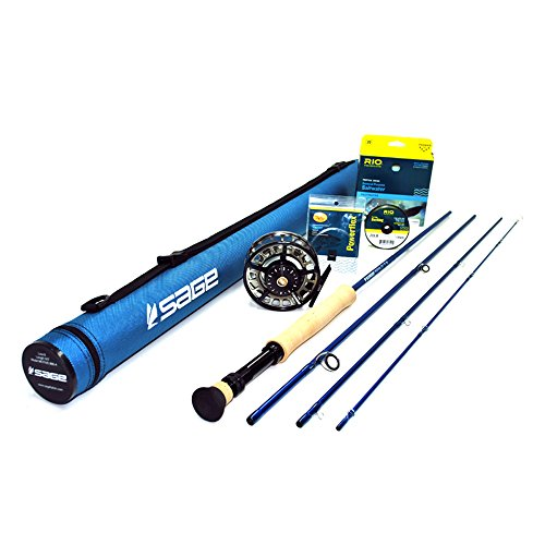 Sage Motive 1290-4 Fly Rod Outfit (9'0, 12wt, 4pc)