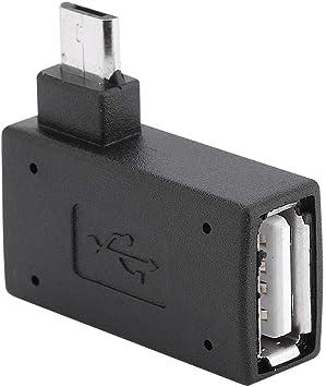 Zerone Usb Adapter Rechts Links Winkel Micro Usb 2 0 Elektronik