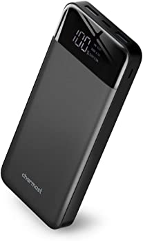 Charmast 20800mAh USB C Portable Power Bank with 2 Inputs & 3 Outputs