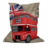 Branded Bean Bag with Printed Bus (5' x 4.4')