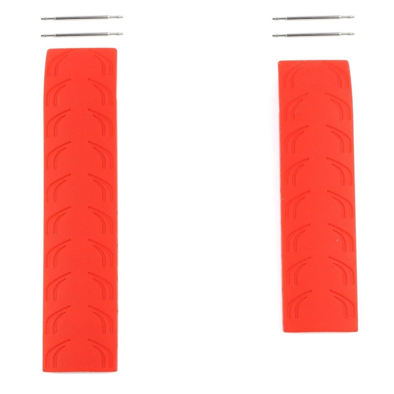 ティソt-raceメンズダークレッドゴムバンドストラップ時計のモデル: t472またはt011417 a  B07CJHTY9D