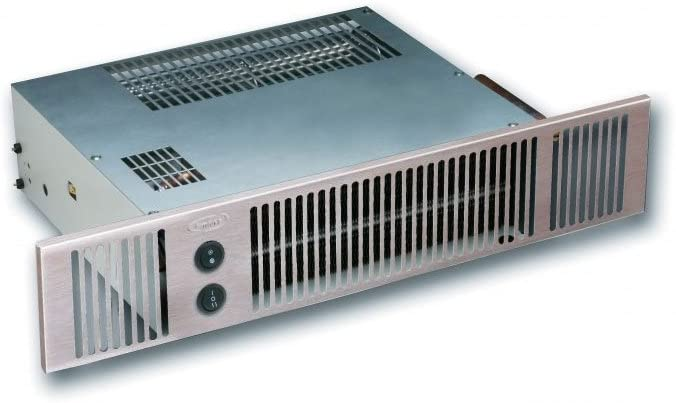 Smiths Hydronic Plinth Heater Space Saver 3 in Stainless Steel Effect
