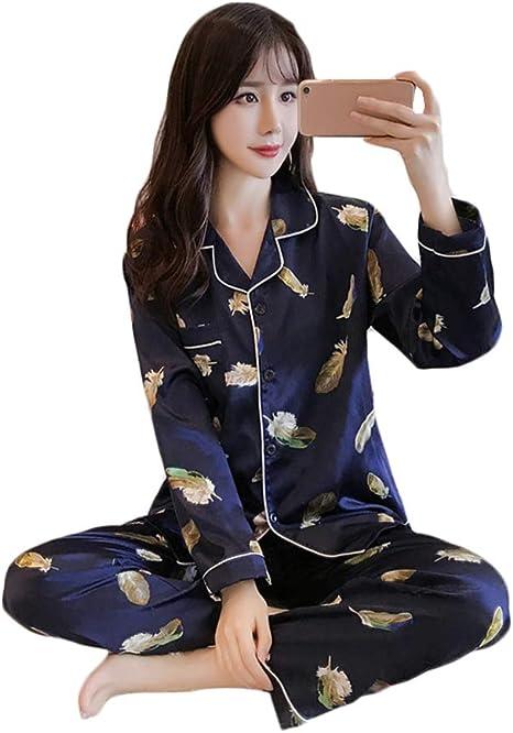 LW Conjunto de Pijamas de Seda. Pijamas de Damas. Servicio a ...