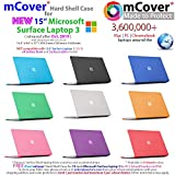 mCover Hard Shell Case for 2019 15-inch Microsoft