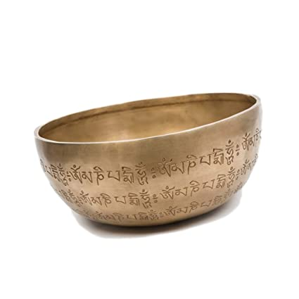Amazon.com: Pure Handmade Yoga Bowl Sound Therapy Tibetan ...