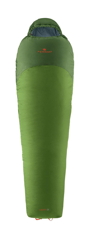 Ferrino SLEEPINGBAG Levity 01 Saco de Dormir Tiempo Libre y Senderismo Unisex Adulto Talla /Única Verde Green