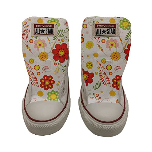 chaussures artisanal mixte Star adulte Slim Paisley coutume Converse produit All Floral Uqw1n47