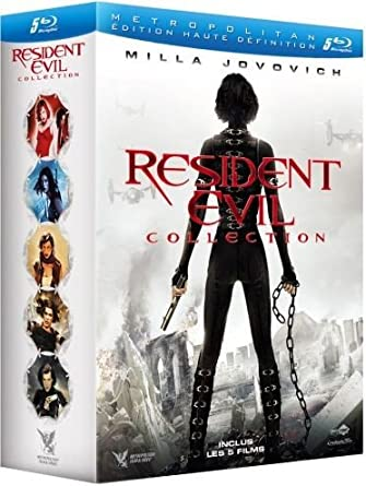 Resident Evil Collection : Resident Evil + Resident Evil : Apocalypse + Resident Evil : Extinction + Resident Evil : Afterlife + Resident Evil : Retribution Francia Blu-ray: Amazon.es: Milla Jovovich, Michelle