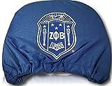 New Zeta Phi Beta Sorority Colored Headrest Cover