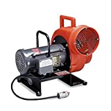 Allegro Industries 9503 Explosion‐Proof Blower, Electric 3/4 hp Motor Single Phase, Includes 115V Plug