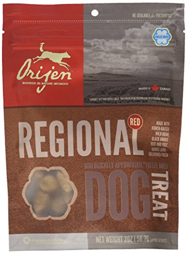 Orijen Regional Red dog treats premios para perros