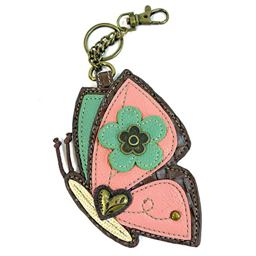 Chala Coin Purse/Key Fob (Butterfly) ()