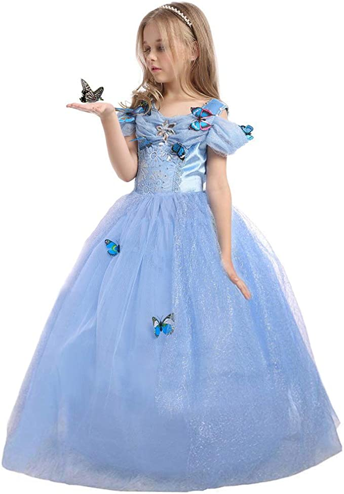 Amazon.com: JiaDuo - Disfraz de princesa Cenicienta para ...