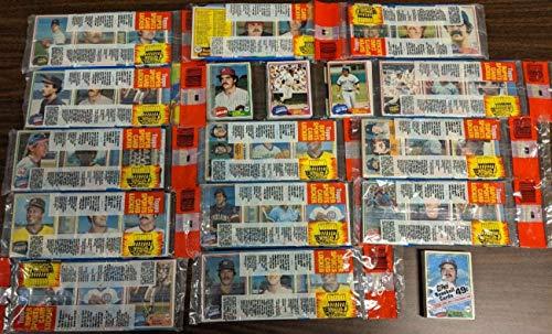 1981 Topps Baseball lot of 15 packs 13 Grocery 1 Rack 1 Cello New Unopened 52003